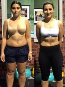 Now a more confident looking lady as a result of training with Body By Andi Coburg.